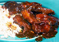 Candied Polynesian Spareribs