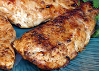 Grilled Chicken with Soy Wine Sauce