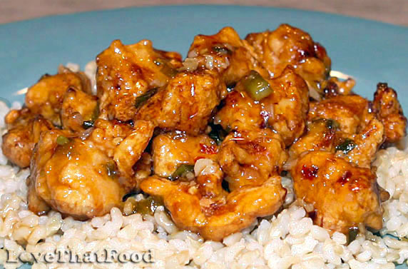 Spicy Orange Chicken Recipe with Picture - LoveThatFood.com