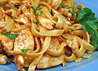 Thai Chicken Fettuccine
