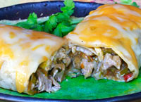 Chile Verde Burritos