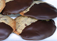 Chocolate-Dipped Chocolate Chunk Cookies