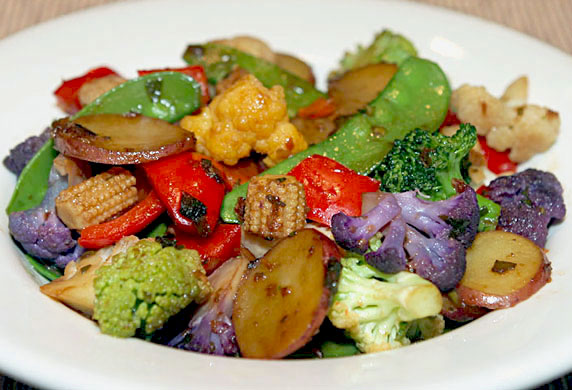 Confetti Vegetable Stir-Fry