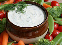Fresh Herb Yogurt Dip