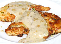Ginger Cream Chicken