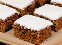 Molasses Cake Bars