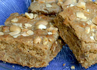 Nutty Peanut Butter Brownies