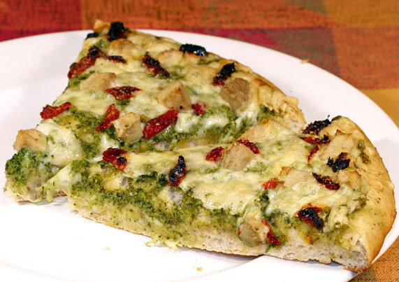 Pesto Pizza Recipe with Picture - LoveThatFood.com