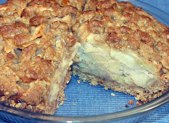 Apple Custard Pie Recipe - LoveThatFood.com