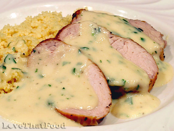 Pork loin with apple cider / Weight loss vitamins for women