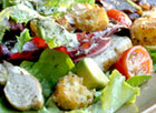 Garden Salad with Dijon Vinaigrette
