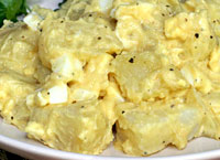 Mustard Potato Salad with Egg