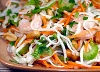 Shrimp Salad with Jicama and Carrot