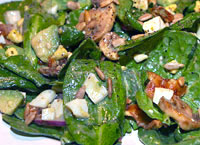Spinach Salad with Honey Mustard
