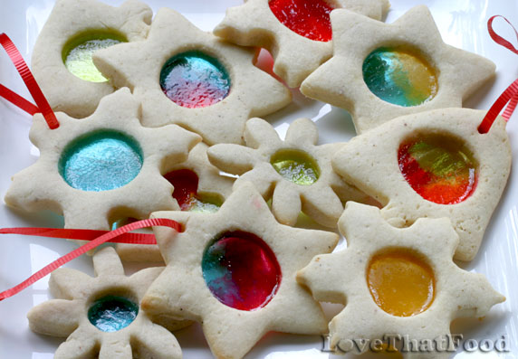 Stained Glass Cookies Recipe with Picture - LoveThatFood.com