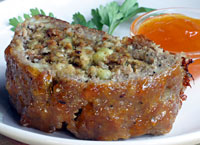 Stuffed Turkey Meatloaf