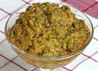 Sun-Dried Tomato and Basil Pesto